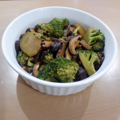 Broccoli and Shiitake